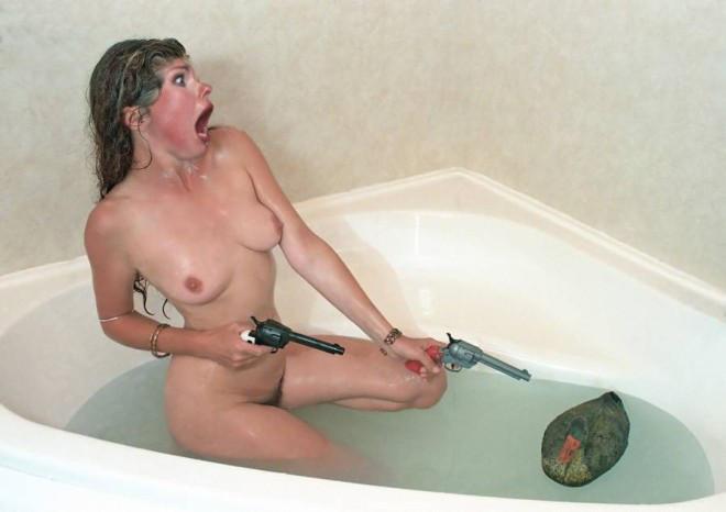Nude girl masturbate with gun, obese women masturbate positions