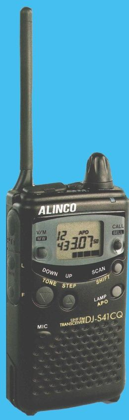 Радиостанция Alinco DJ-S41CQ